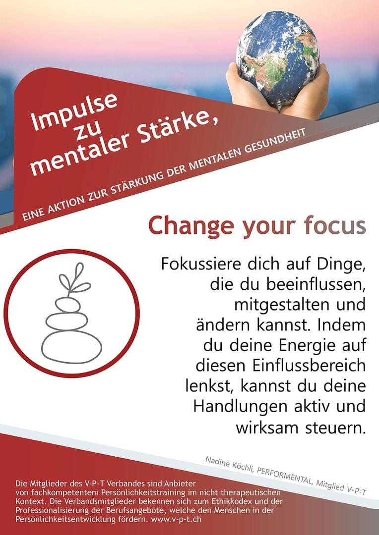 Change your focus