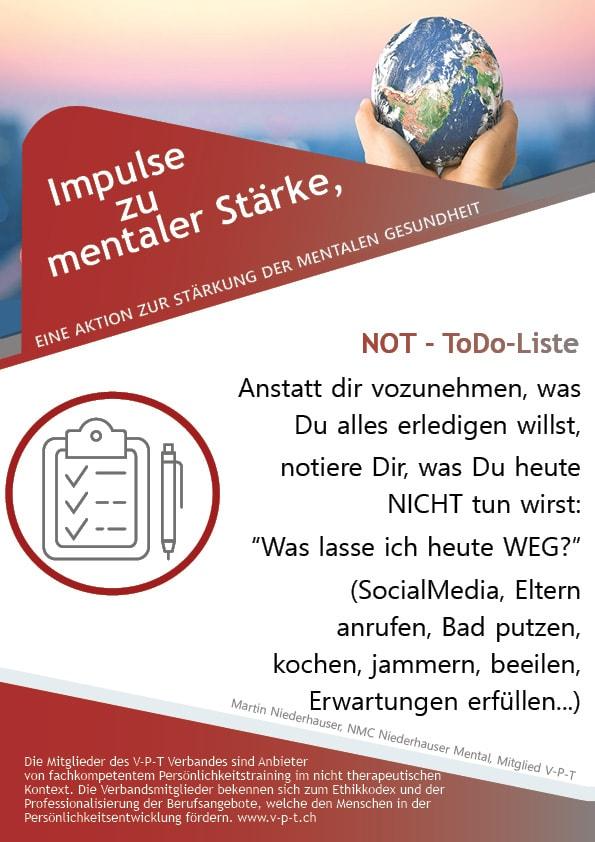 Not - ToDo-Liste